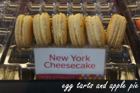 Macaroned-cheesecake