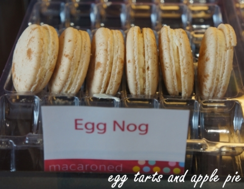 Macaroned-egg nog