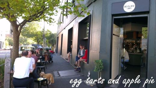Gertrude St Cafe De Clieu