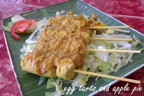 Vegie Mum - Satay Chicken
