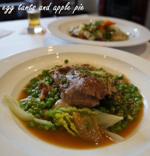 Four in Hand - Braised Lamb