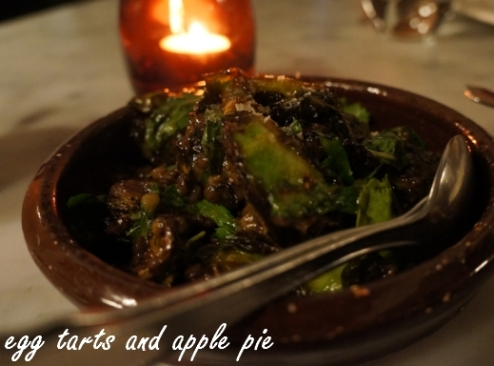Porteno - Fried Brussel Sprouts
