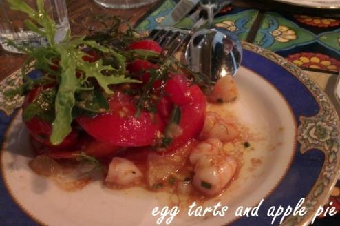 Epocha - Tomato Prawn Salad