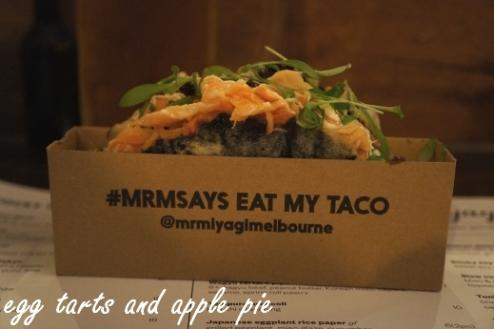 Mr Miyagi - Nori Taco