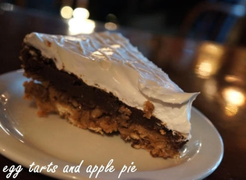 Double Musky - Peanut Chocolate Pie