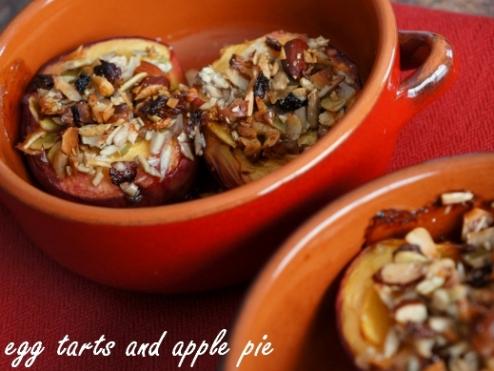 Baked Granola Peaches 2