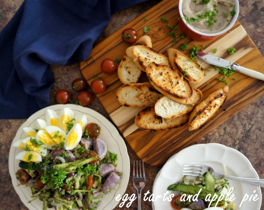 "... -ish"" Salad & Provencal White Bean Dip 