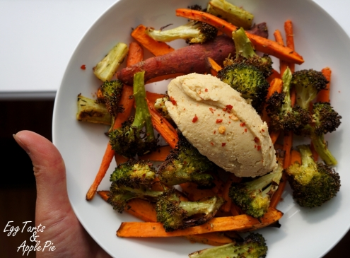 Roast Veg and Hummus