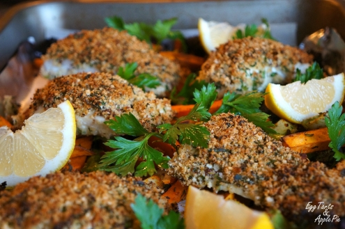 Herb Crusted Halibut2